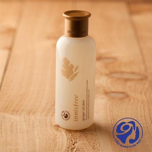 Nước hoa hồng Innisfree Ginger Oil Skin