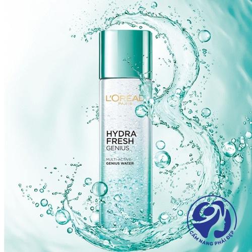 Nước hoa hồngL'Oreal Hydrafresh Genius