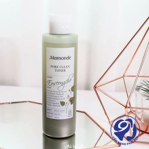 Nước hoa hồng Mamonde Chamomile Pure Toner