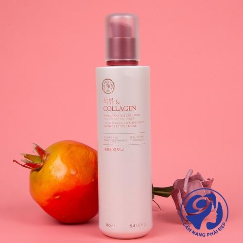 Nước hoa hồng Pomegranate And Collagen Volume Lifting Toner