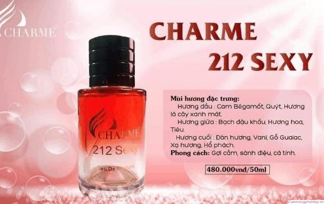 Một số câu hỏi thường gặp khi mua và sử dụng nước hoa Charme