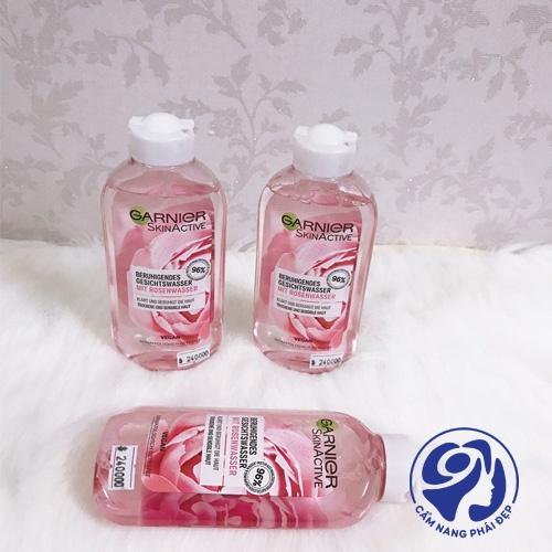 Nước hoa hồng Garnier – Chất lượng có thực sự xuất sắc?