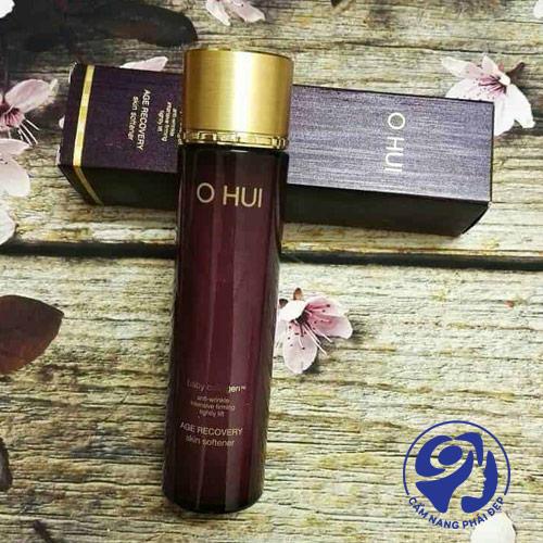 Nước hoa hồng Age Recovery Essential Skin Softener