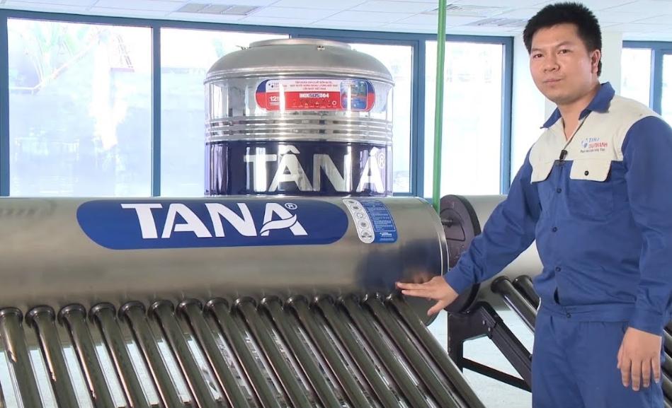 Máy nước nóng NLMT Tân Á có tốt không