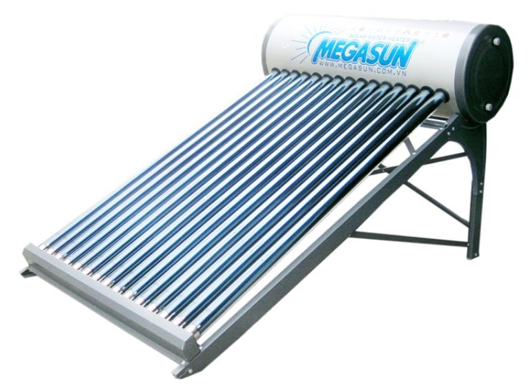 Máy nước nóng năng lượng mặt trời Megasun có tốt không