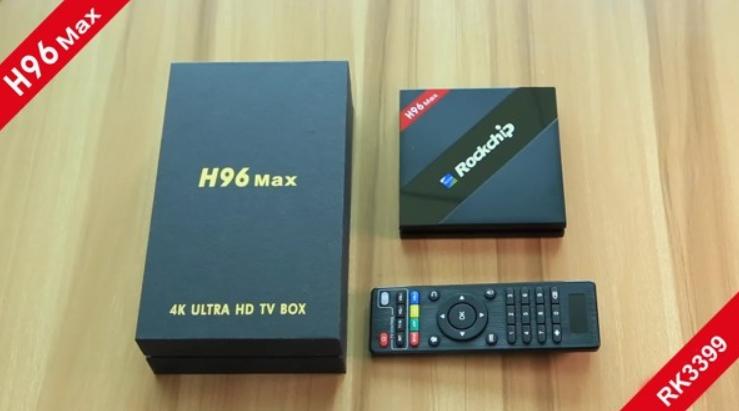 Tivi Box H96 Max