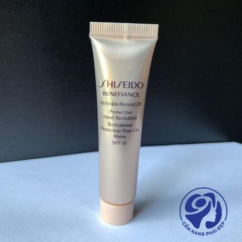 Shiseido Beneance Wrinkleresist24 Protective Hand