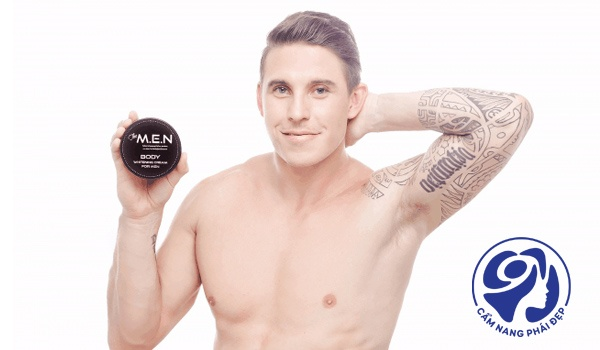 Kem dưỡng trắng da toàn thân cho nam giới loại nào tốt?