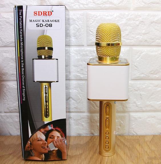 Micro Karaoke Kiêm Loa Bluetooth SD-08