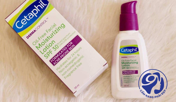 Cetaphil Derma Control Oil Control Facial Moisturizer SPF 30