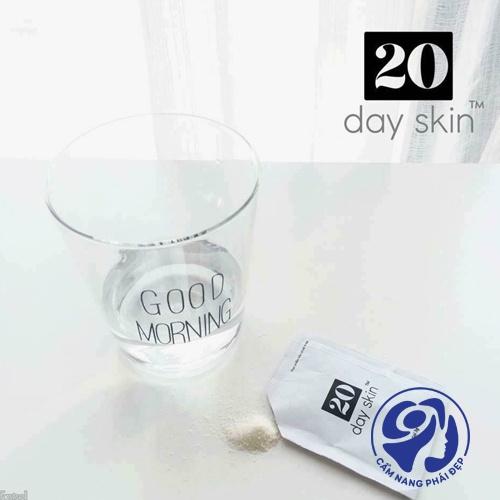 Uống 20 Day Skin có nổi mụn không?