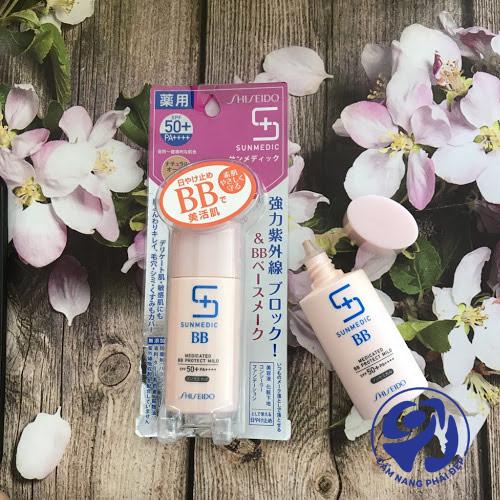 BB Cream Shiseido Sunmedic SPF 50+