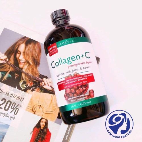 NeoCell Collagen +C Pomegranate Liquid