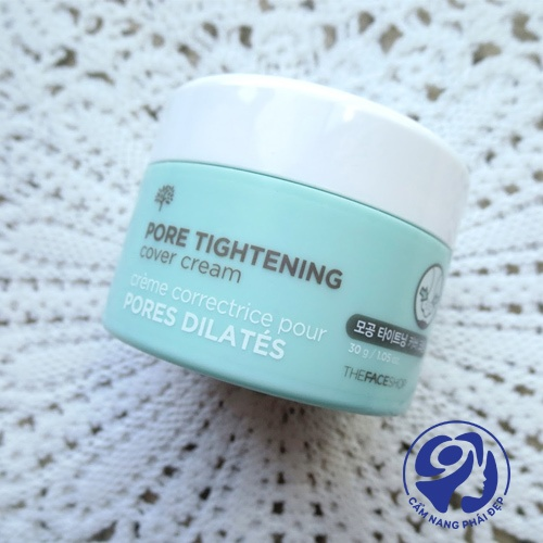 The Face Shop Pore Tightening Cover Cream
