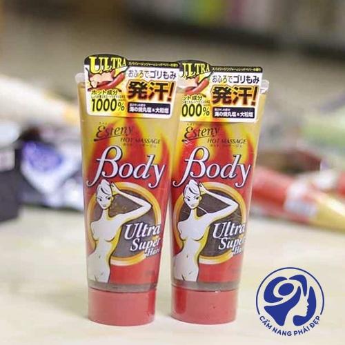 Sana Esteny Hot Body Massage Gel