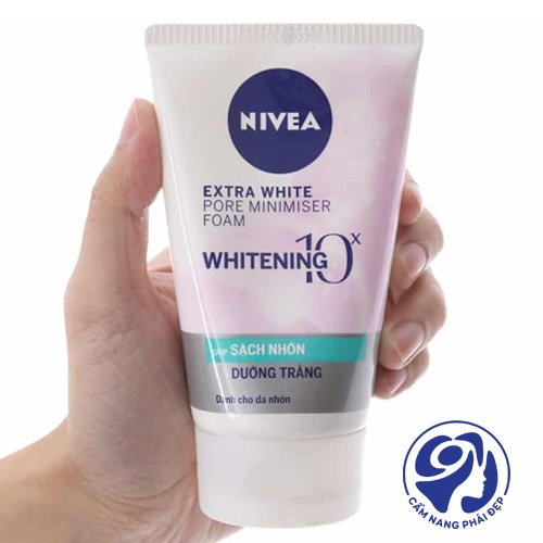 Nivea White Pore Minimiser Foam