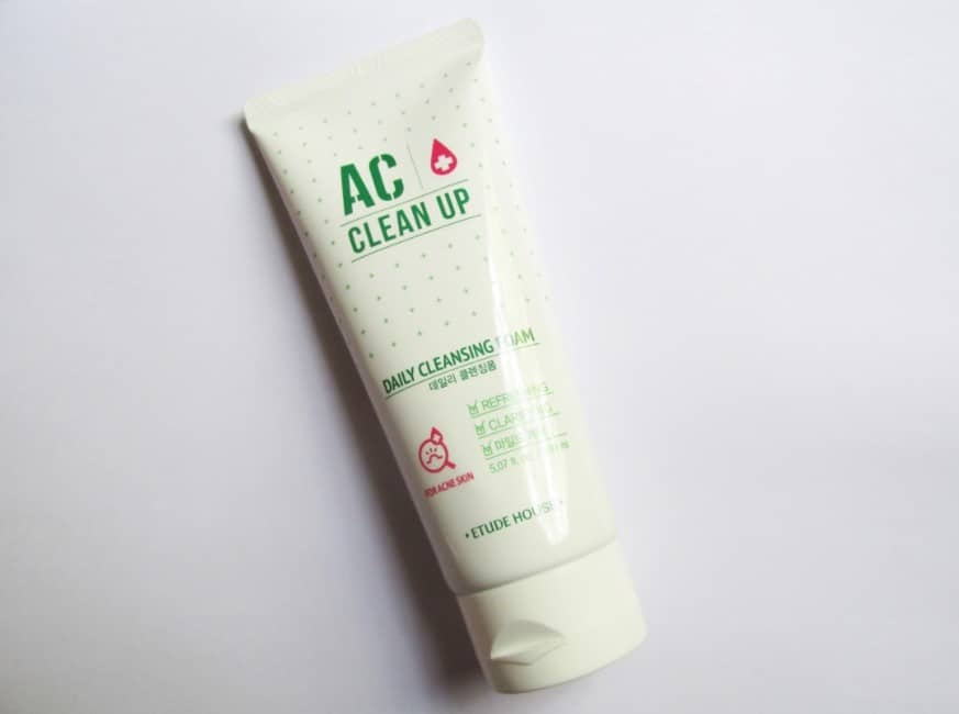 Etude House AC Clean Up Daily Acne Cleansing Foam