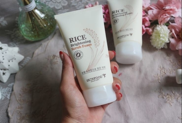 Skinfood Rice Brightening Cleansing Foam