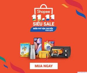 Shopee 11.11 Siêu Sale chính thức trở lại - Sự kiện mua sắm lớn nhất 11.11 từ trước đến nay