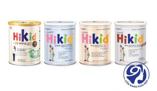 Sữa tăng chiều cao Hikid Gold