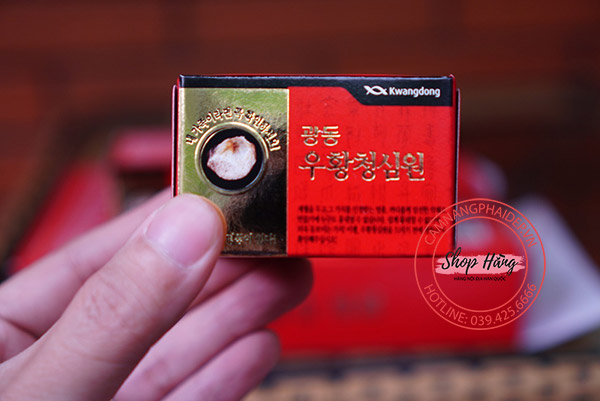 An cung ngưu hoàn tổ kén kwangdong chính hãng7