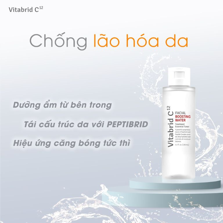 Vitabrid C12 Facial Boosting Water