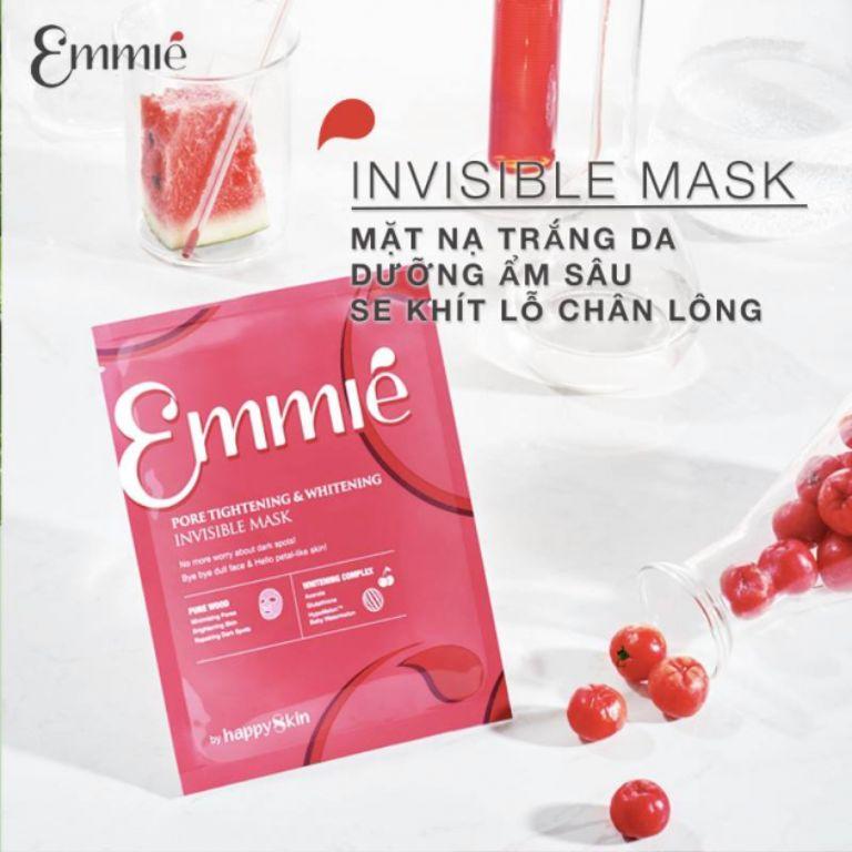 Mặt nạ trắng da dưỡng ẩm Invisible Emmié