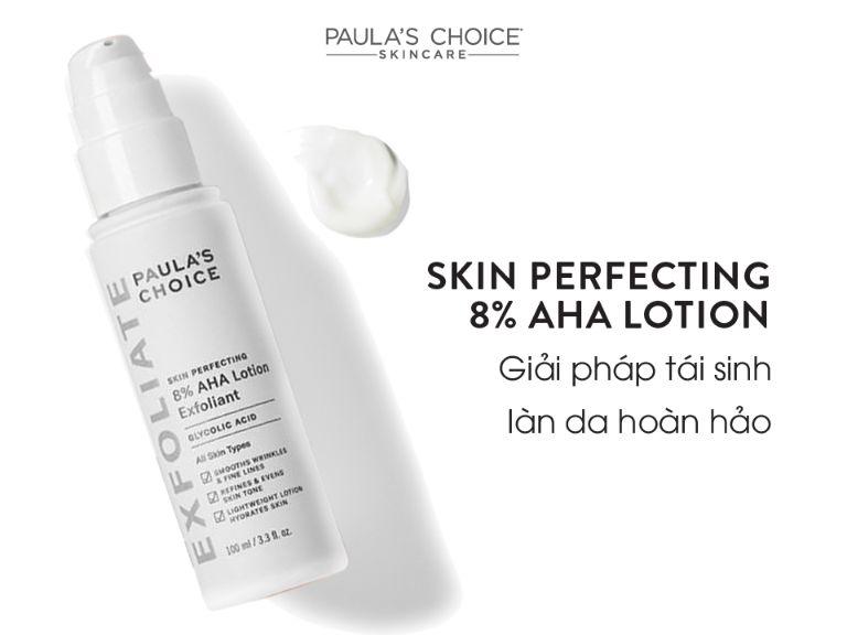 Tẩy tế bào chết Paula's Choice Resist Skin Perfecting AHA 8% Lotion