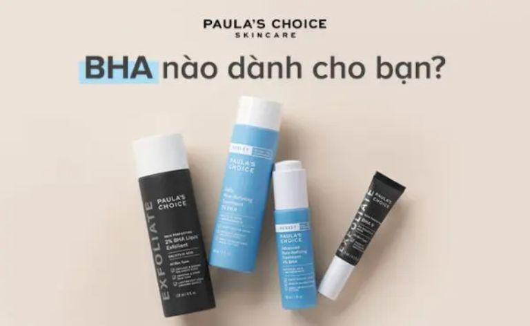 Câu hỏi thường gặp về BHA Paula's Choice