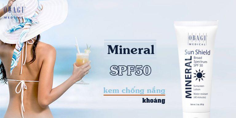 Kem Chống Nắng Sun Shield SPF 50
