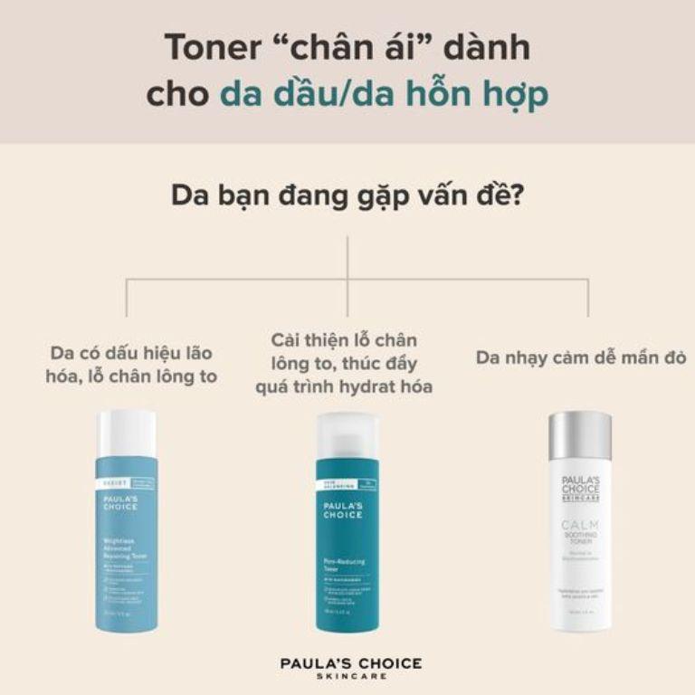 Lựa chọn toner như nào cho hợp với làn da?